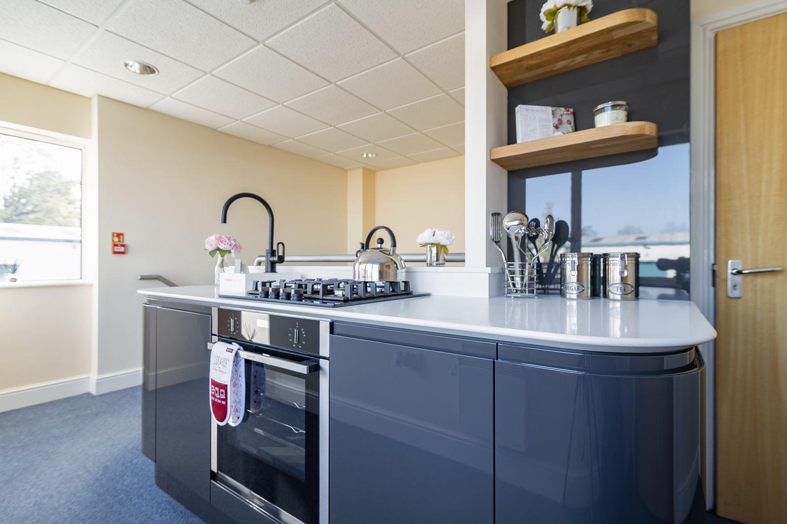 modern gloss kitchen Southampton, Hampshire